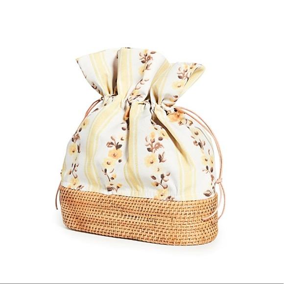 Brother Vellies Nusa Bucket Bag Woven Rattan